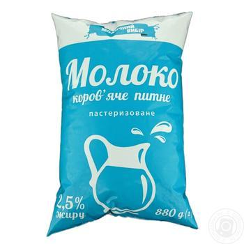 Молоко Молочний вибір пастеризоване 2,5% 880г - купити, ціни на Фуршет - фото 2