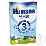 Суміш Humana молочна суха з пребіотиками для дітей з 10 місяців 350г