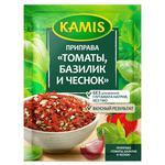 Приправа Kamis Сушені помідори з часником і базиліком 15г