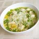 Рисовий суп в азіатському стилі