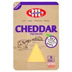 Сыр Млековита Чеддер нарезаный 50% 150г