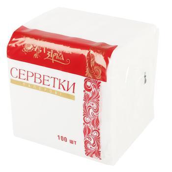 Салфетки Українська Зірка бумажные 100шт