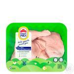 Четверти Наша Ряба цыпленка бройлера, охлажденные (упаковка ~ 1,1кг) - купить, цены на Метро - фото 1