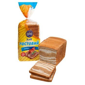 Хлеб Кулиничи Тостовый Зебра 330г