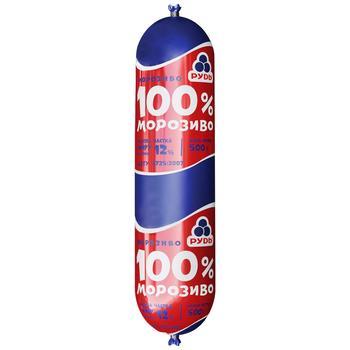 Мороженое Рудь 100% 500г - купить, цены на Фуршет - фото 1