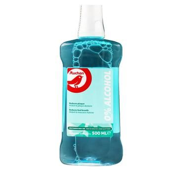 Auchan Freshness Mouthwash 0% Alcohol 500ml - buy, prices for Auchan - photo 1