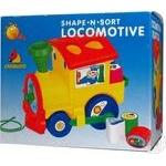 Іграшка Цікавий паровоз Полісся 6189