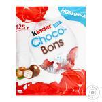 Конфеты Kinder Choco-Bons из молочного шоколада с молочно-ореховой начинкой 125г
