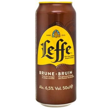 Leffe Brune Beer dark 6,5% 0,5l