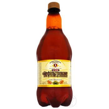 Persha privatna brovarnya Special Draft beer unfiltered light 4,6% 0,9l