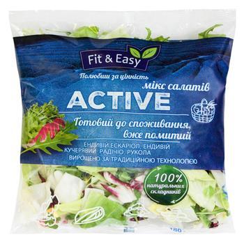 Микс салата Fit&Easy Актив 180г - купить, цены на Novus - фото 1