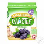 Puree Malenkoye schastye prunes for children 90g