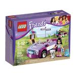 Construction toy Lego Friends Emma's Sports Car Downtown Bakery for 5 to 12 years children 159 pieces