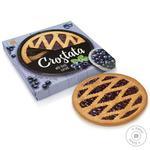 Пиріг пісочний crostata чорна смородина БШ 370г - купити, ціни на Novus - фото 1