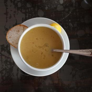 Стамбульский чечевичный суп