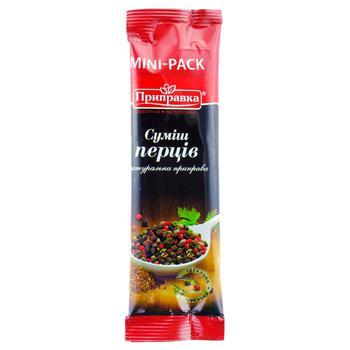 Pripravka ground pepper mix 10g - buy, prices for Auchan - photo 1
