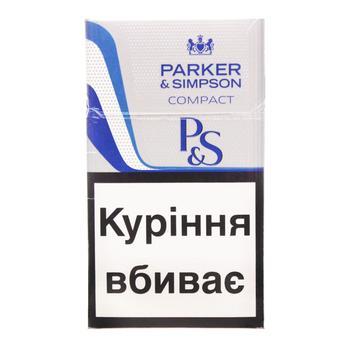Сигареты Parker&Simpson C-Line Blue - купить, цены на СитиМаркет - фото 1