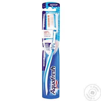 Зубна щітка Aquafresh Interdental середньої жорсткості - купити, ціни на Восторг - фото 3
