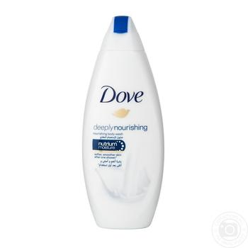 Dove Shower cream gel Deep nutrition and moisturizing 250ml - buy, prices for Novus - image 3