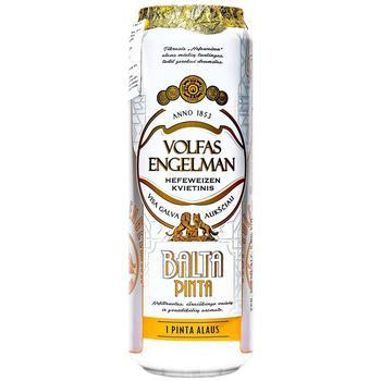 Пиво Volfas Engelman 0,568 л з/б Balta Pinta