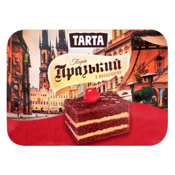 Торт Tarta Пражский с вишней 330г - купить, цены на Фуршет - фото 1