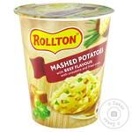 Rollton Potato Puree With Beef Flavor 55g