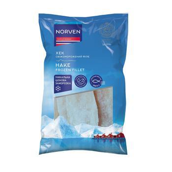 Філе хека Norven без шкіри заморожене