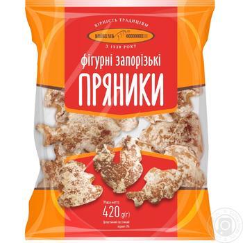 Пряники Киевхлеб Фигурные запорожские 420г - купить, цены на Фуршет - фото 3