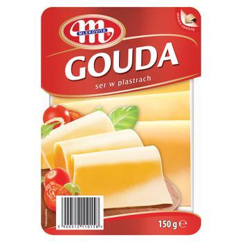 Mlekovita Gouda Sliced Cheese 45% 150g