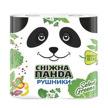 Полотенца бумажные Сніжна панда 2шт