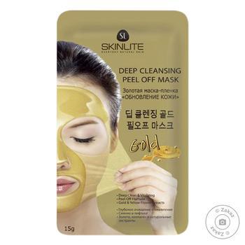 Skinlite Skin Renewal Gold Face Mask 15ml - buy, prices for CityMarket - photo 1