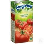 Sadochok tomato juice with salt 0,95l - buy, prices for Furshet - image 1