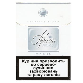 Цигарки Прима Люкс cрібна - купити, ціни на Восторг - фото 4