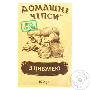 Чипсы Домашние с луком 100г - купить, цены на СитиМаркет - фото 1