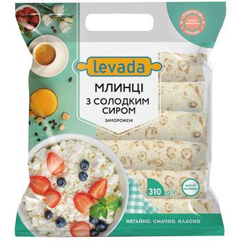 Блины Левада со сладким сыром 310г - купить, цены на СитиМаркет - фото 1