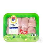 Nasha ryaba Thigh Fillet Broiler-Chicken Chilled (PET Packaging ~ 1,1kg) - buy, prices for Auchan - image 1