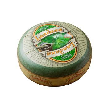 Сыр Landana Гауда Песто зеленый 50%