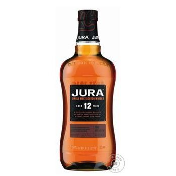 Віскі Isle of jura 12 років 40% 0.7л - купити, ціни на МегаМаркет - фото 1