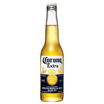 Пиво Corona Extra светлое 4,5% 0,33л - купить, цены на ЕКО Маркет - фото 1