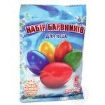 Набір харчових барвників для пасхальних яєць Світс-7 145*100*7 25г