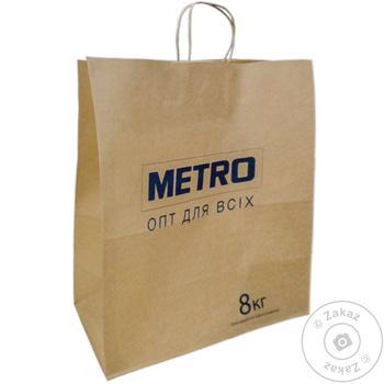Пакет бумажный 400X200X450мм METRO