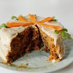Морковно-финиковый торт