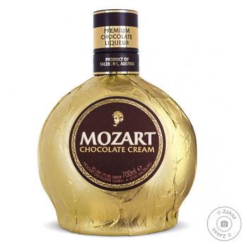 Ликер Mozart Chocolate Cream Gold 0,7л - купить, цены на Novus - фото 1