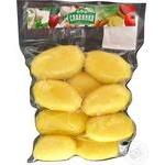 Картопля свіжа чищена мита ціла Славянка 0,5кг