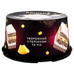 Торт Вrioshe Творожный с персиком и чиа 500г