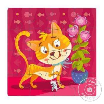 DoDo Puzzle Kitten 16 elements - buy, prices for MegaMarket - image 2