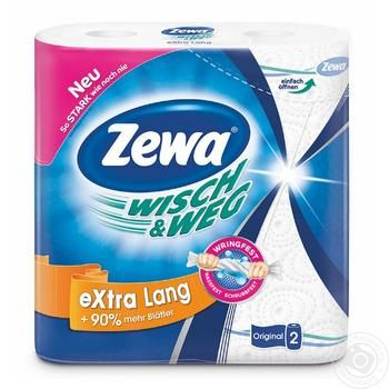 Zewa Wisch&Weg Kitchen Paper Towels 2rolls - buy, prices for Novus - image 5
