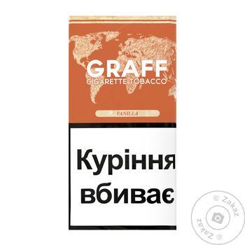 Табак Graff Vanilla 30г