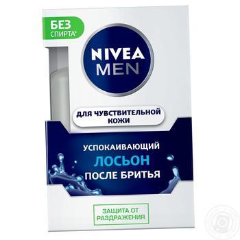 Лосьон Nivea Men Успокаивающий для чувствительной кожи после бритья 100мл - купить, цены на Фуршет - фото 3