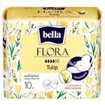 Гигиенические прокладки Bella Флора тюльпан 10шт